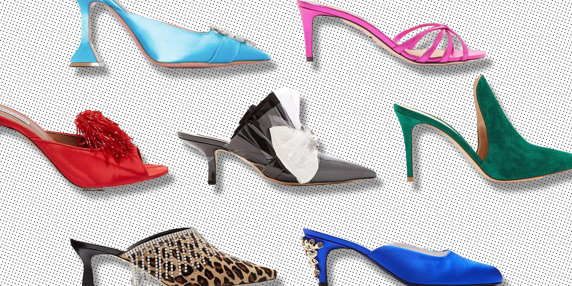 Mule Shoes For Easy On-And-Off Eveningwear