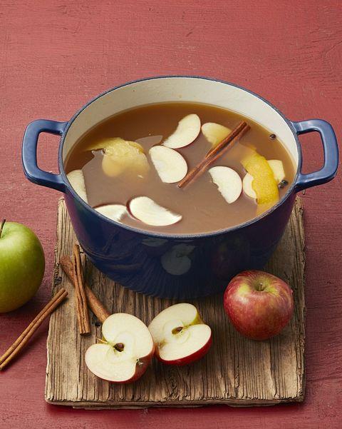 mulled apple cider halloween activities