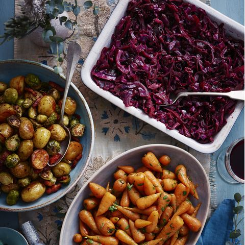 mulled cranberry cabbage