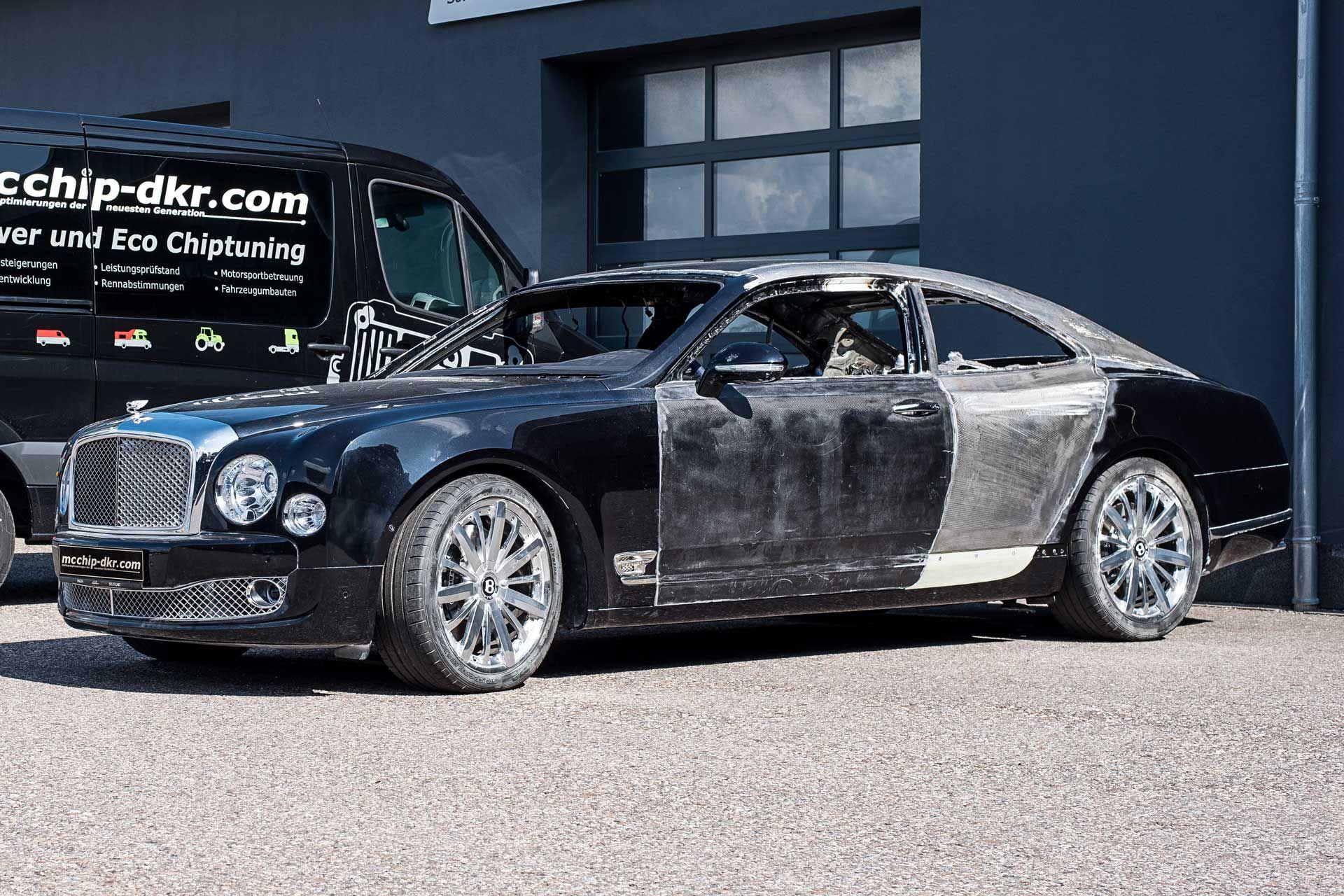 Bentley Brooklands shop-made & Bentley Mulsanne Coupe - Custom Mulsanne Two-Door