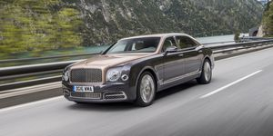 2020 Bentley Mulsanne front