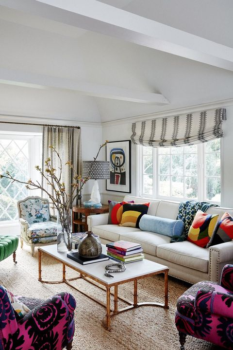 55 Inspiring Living Room Curtain Ideas