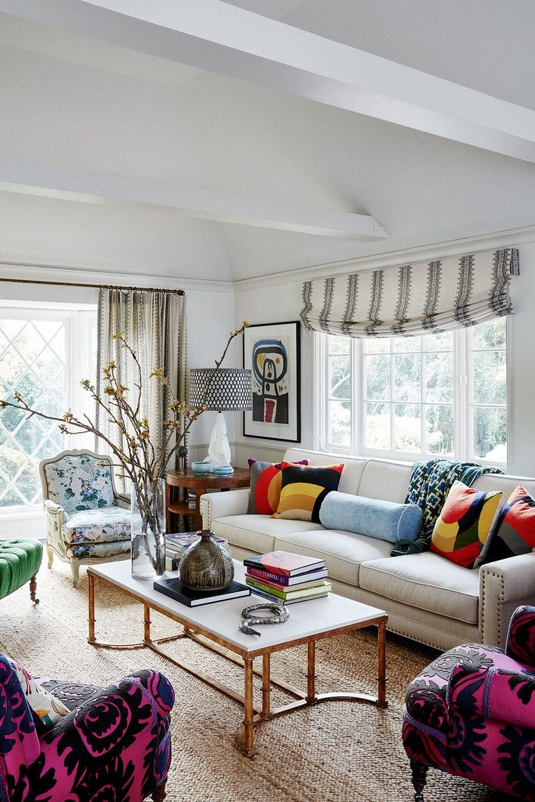 50 Inspiring Curtain Ideas - Window Drapes for Living Rooms