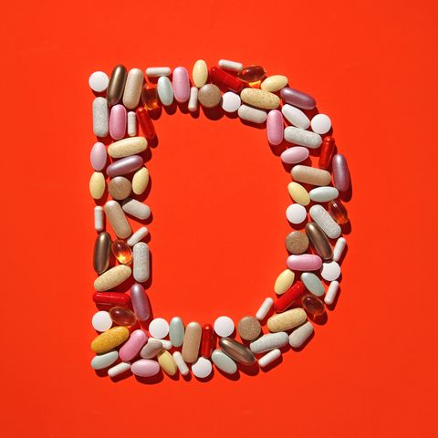 multi vitamin pills and capsules