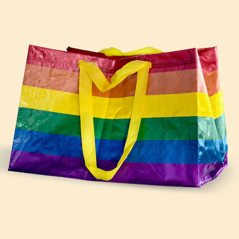 16513664f1b0e Ikea is selling a rainbow version of its iconic FRAKTA bag for Pride