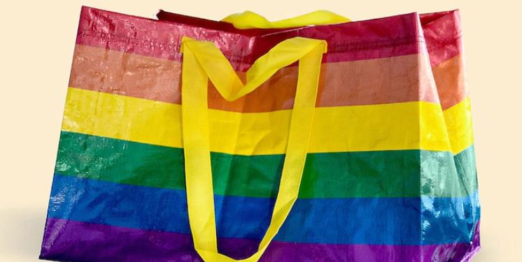 Ikea Uk Launches Multicoloured Rainbow Frakta Bag For Pride