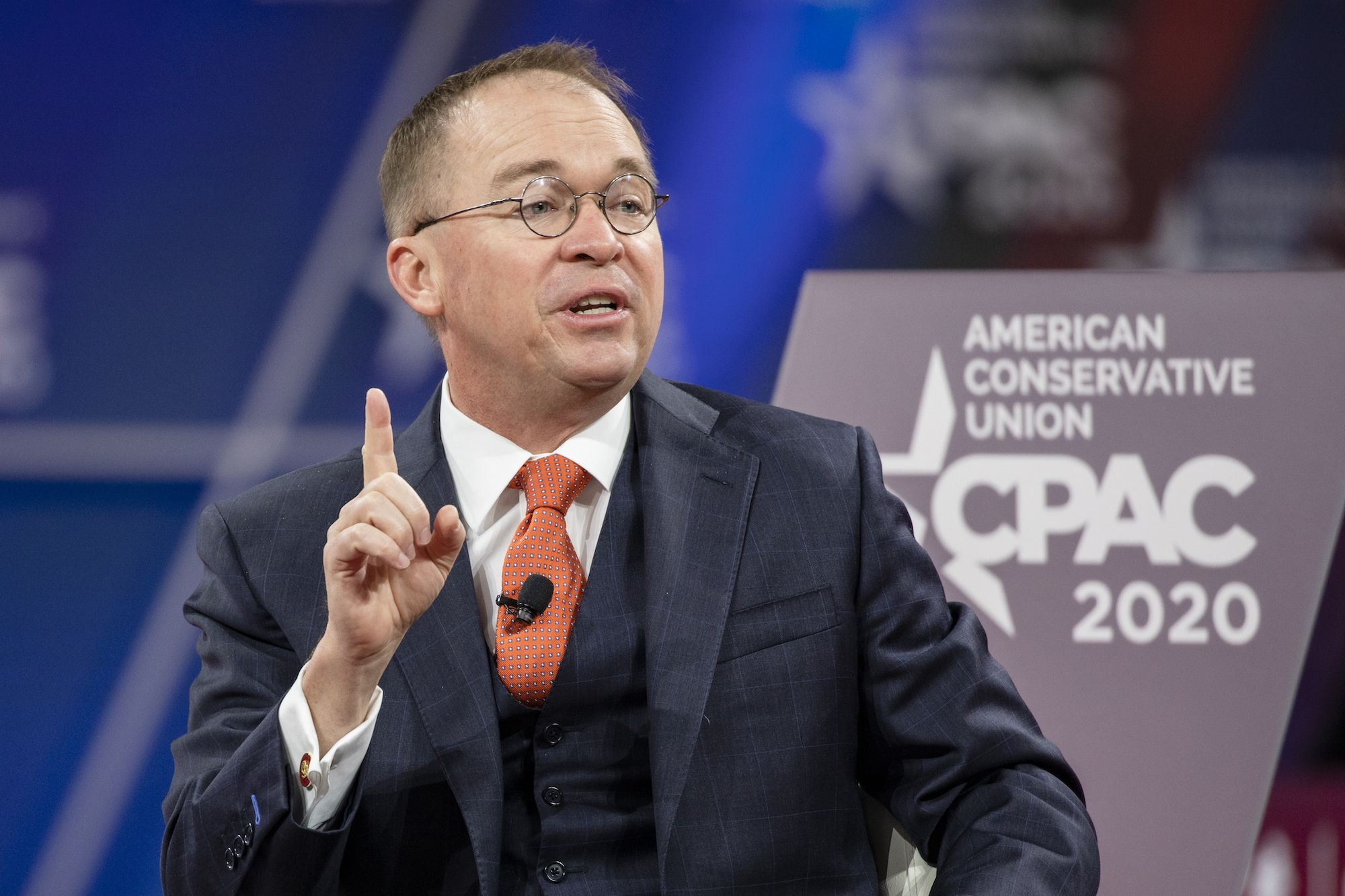 Mick Mulvaney Says Media Is Trying to 'Bring Down the President' With Coronavirus Coverage