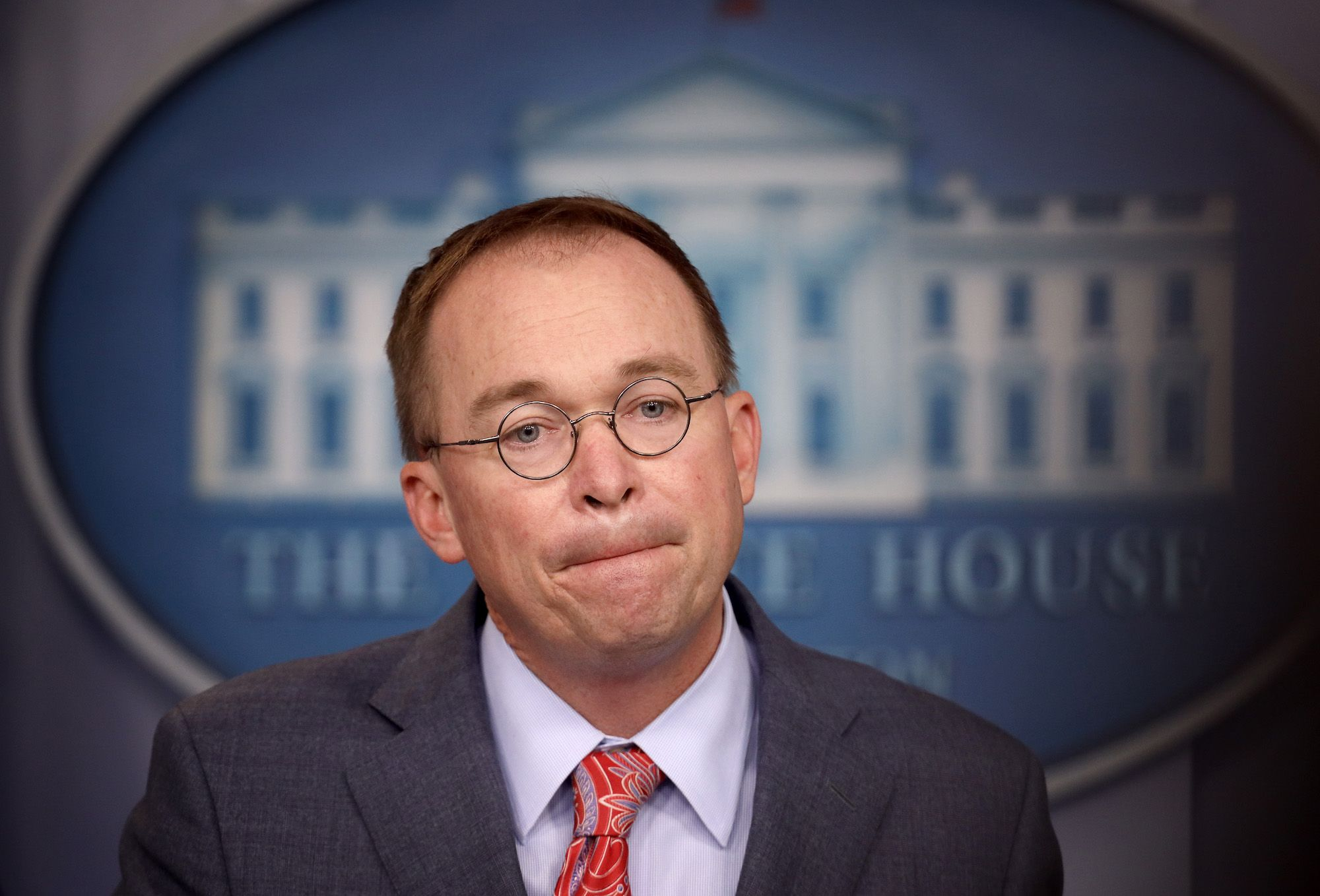 Mick Mulvaney Just Gave Away the Game on Ukraine