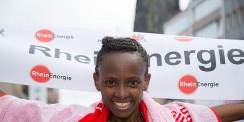 Kenyan marathoner Julia Mumbi Muraga