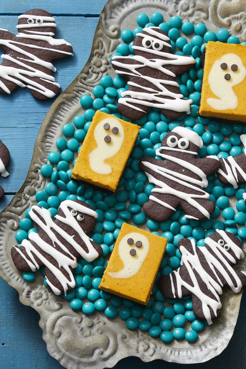 double chocolate mummies cookies