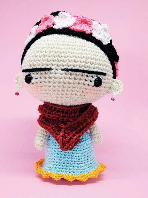 Crochet, Pink, Doll, Toy, Art, Craft, Pattern, Knitting, Textile, Woolen,