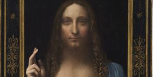 Da Vinci Salvator Mundi