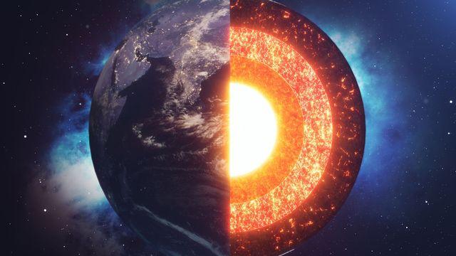planeta alienígena dentro de la tierra