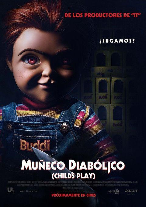 Muñeco Diabolico poster castellano