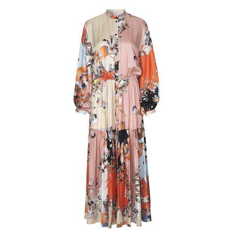 Maxi-jurken-shopping