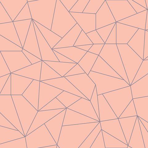 Line, Pattern, Orange, Triangle, Symmetry, Pattern, Design, Peach, Parallel,