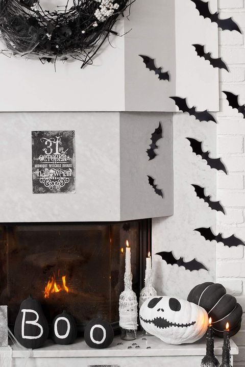 Murciélagos de Halloween decorativos