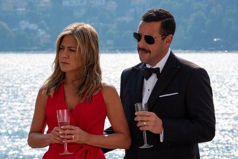搞笑版「史密斯夫婦」出任務!珍妮佛安妮斯頓、亞當山德勒《猜猜猜誰是兇手》將在Netflix首映