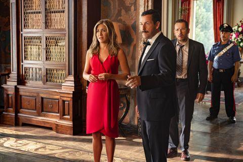 Murder Mystery, Jennifer Aniston, Adam Sandler