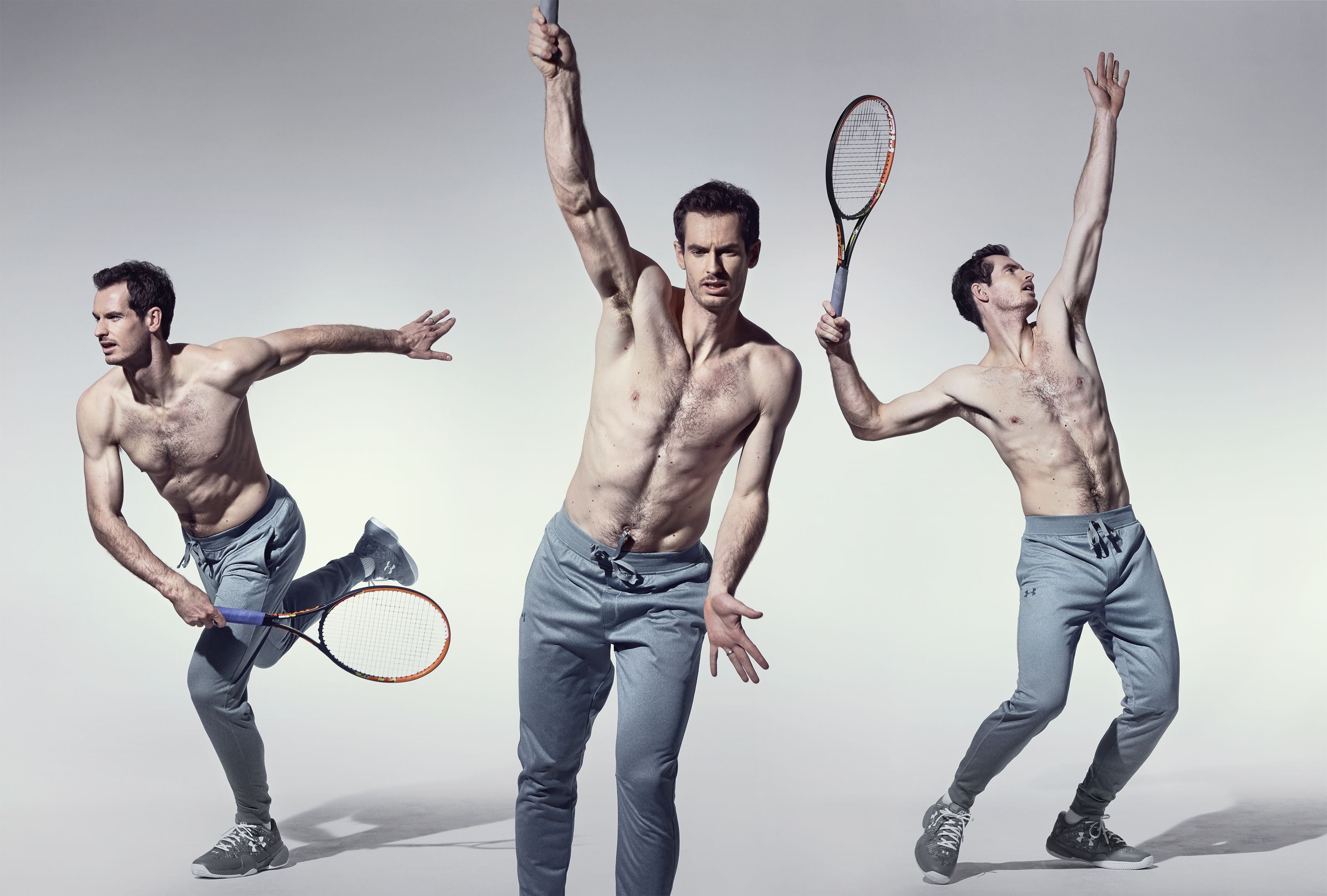 How To Build A Body Like Andy Murray