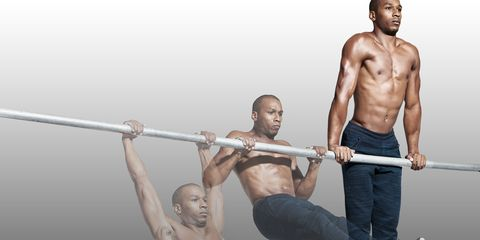 Muscle, Bodybuilder, Shoulder, Barechested, Chest, Physical fitness, Abdomen, Free weight bar, Fitness professional, Barbell,