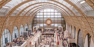 Het Musée D'Orsay in Parijs.