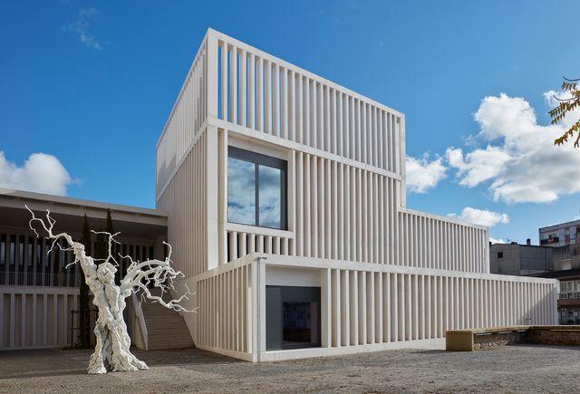 museo helga de alvear en cáceres edificio de tuñón arquitectos