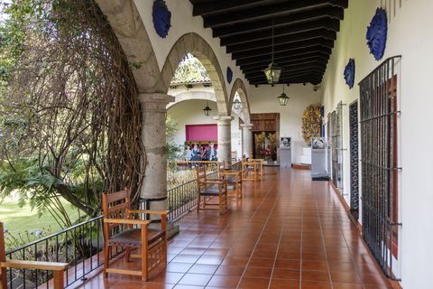 museo dolores olmedo with the famous collection of frida kahlo and diego rivera, mexico, mexico