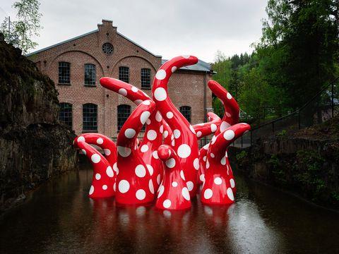 Museo de esculturas Kistefos Noruega