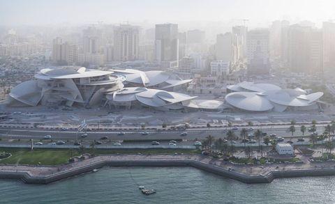 Así está el Museo Nacional de Catar que se inaugura este año