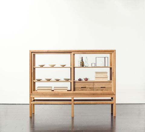 Furniture, Shelf, Drawer, Shelving, Table, Display case, Wall, Chest of drawers, Room, Sideboard,