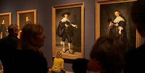Opening of 'Dutch and Spanish Masters' Exhibition At The Rijksmuseum