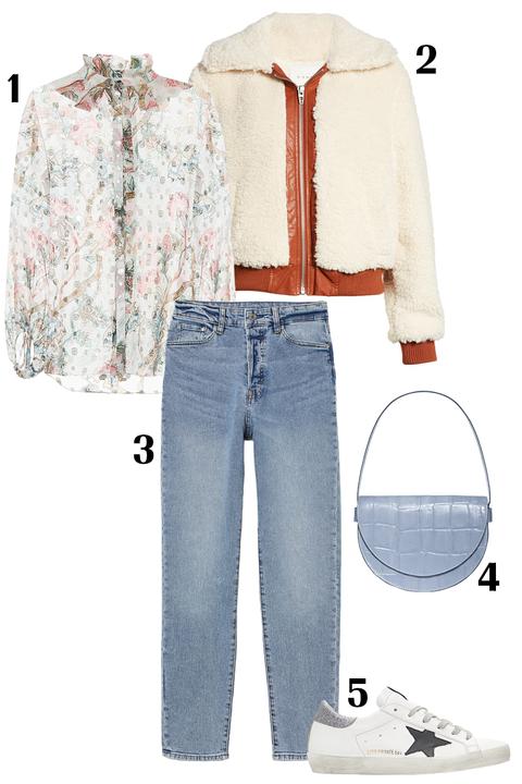 Clothing, White, Jeans, Denim, Fashion, Trousers, Textile, Sleeve, Fashion illustration, Pocket,