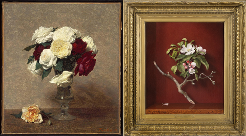 museums sharing bouquets