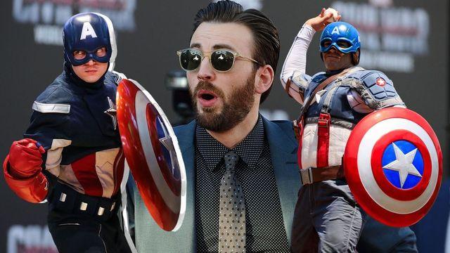 chris evans da vida al capitán américa en las películas de marvel studios