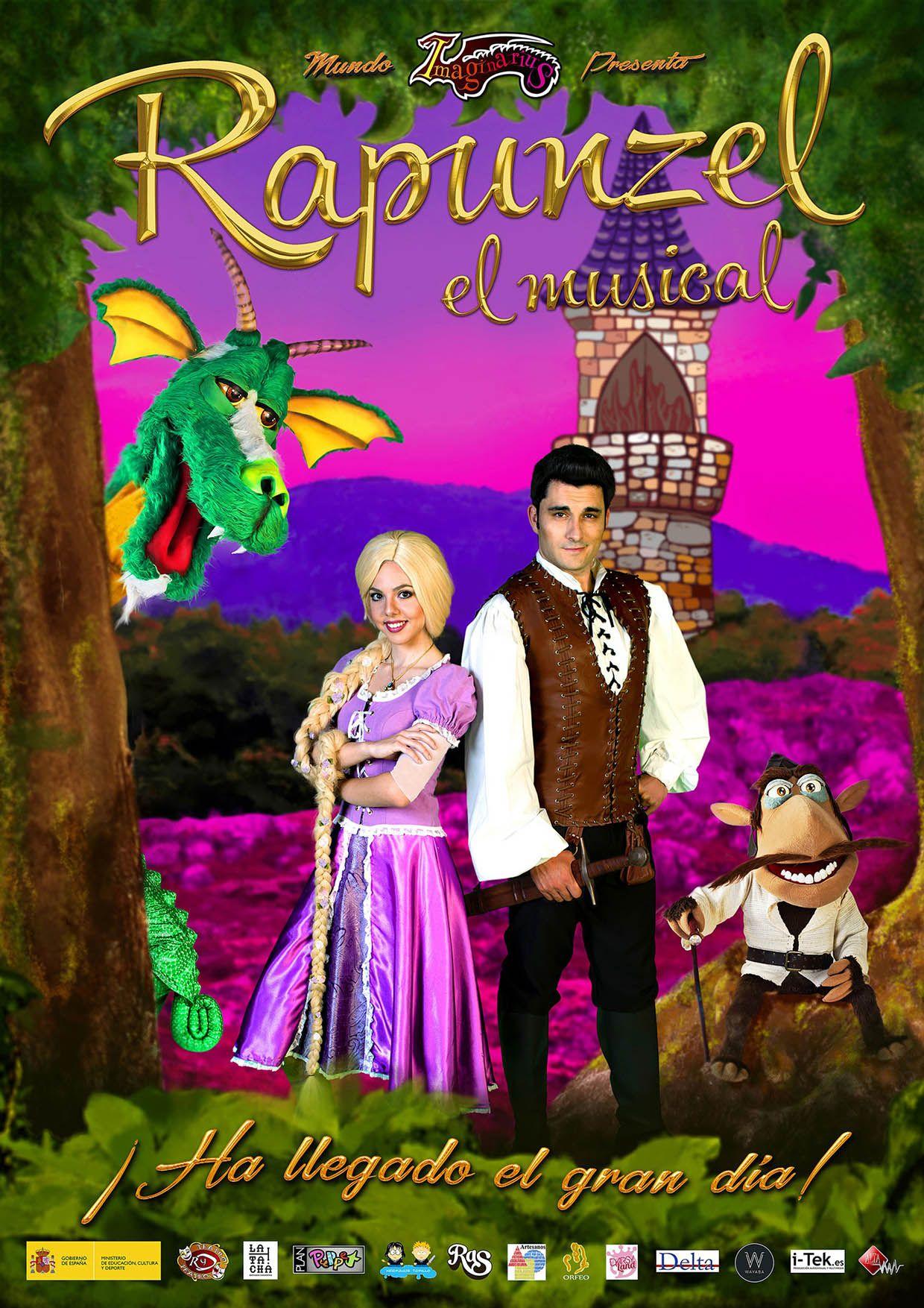 Rapunzel, musicales para niños