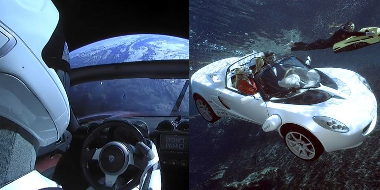 The Lotus Elise Is the Only Underwater, Land, and Space Car