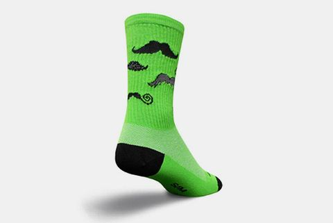 SockGuy Mustache Socks