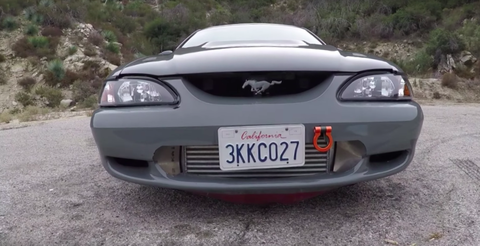 This 2JZ-Swapped Mustang Is the Opposite of a Sleeper