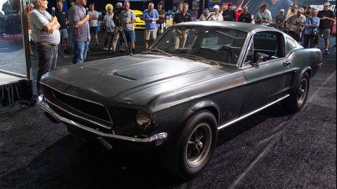 El Ford Mustang de la película 'Bullitt' saldrá a subasta