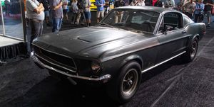 Ford Mustang de la película 'Bullit' a subasta