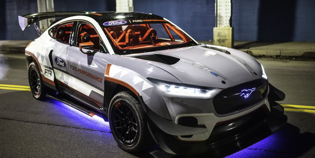 1400-HP Mustang Mach-E Stars in Ford's 2020 SEMA Reveals