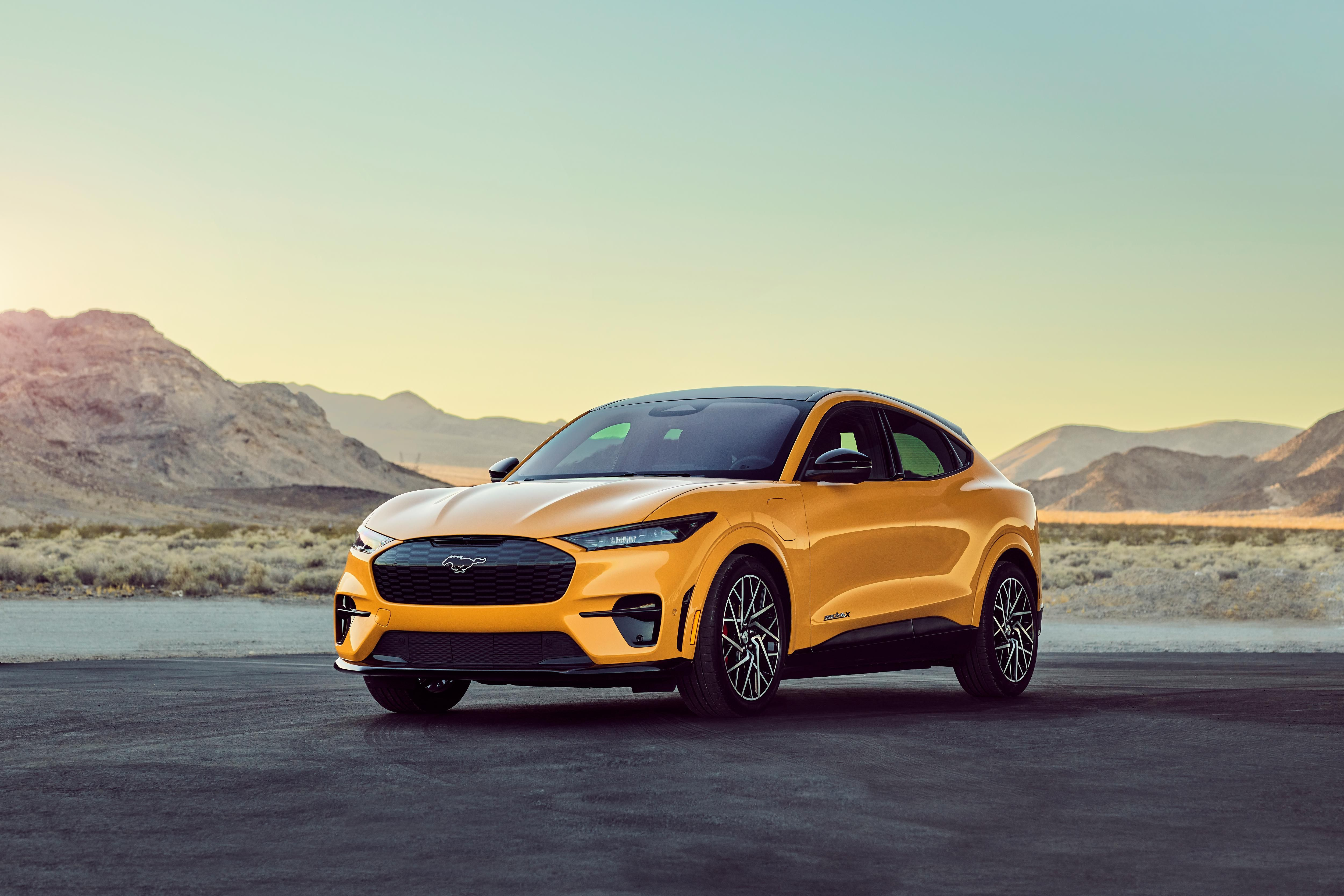 2021 Ford Mustang Mach E Gt Performance To Have 480 Hp 634 Lb Ft