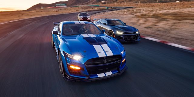 Mustang Shelby GT500 vs. Camaro ZL1 1LE vs. Challenger Hellcat Redeye