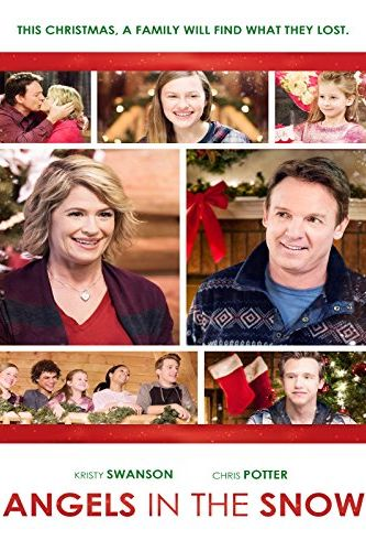 Christmas Movies on Netflix angels in the snow