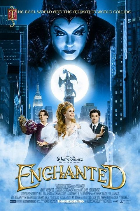 best disney live action movies enchanted