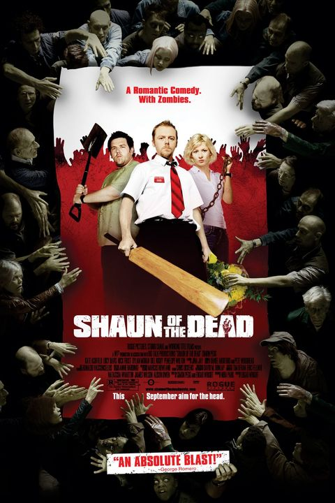 shaun of the dead 2004 movie poster