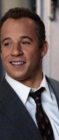 Vin Diesel (head of hair) Diesel in 2006's Find Me Guilty.