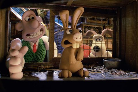 Animation, Animated cartoon, Cartoon, Hare, Rabbit, Rabbits and Hares, Figurine, Toy, Media, Clay animation,