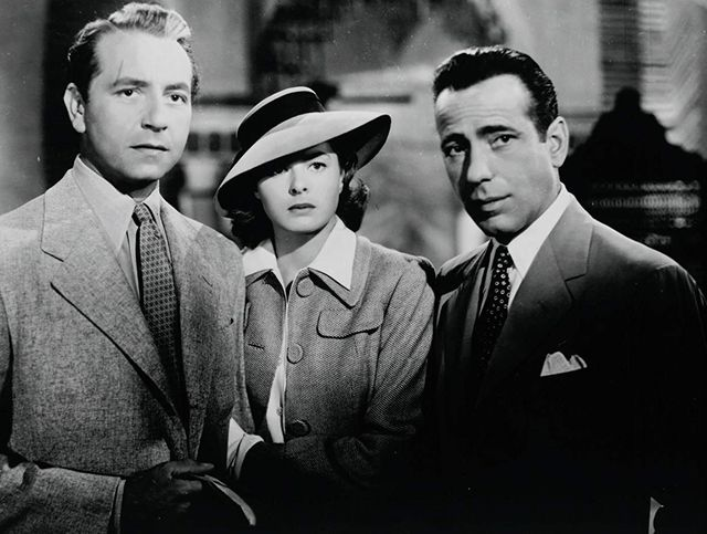 Casablanca Humphrey Bogart Ingrid Bergman – Casablanca, The Glamorous Film  that Almost Wasn't